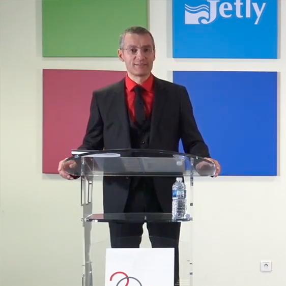 Guillaume Robin à l'Assemblée Générale Mixte 2020 de Thermador Groupe