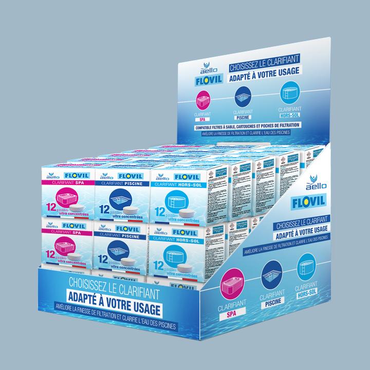 Packaging Flovil d'Aello